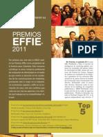 PREMIOS EFFIE®, GANADORES 2011 COLOMBIA