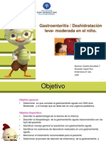 Gastroenteritis Deshidratracion Leve Moderada Real
