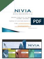 Presentación NIVIA INGENIERIA Enero de 2011