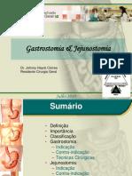Gastrostomia e Jejunostomia