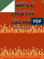 20. Quran Promotes Suicide Bombings