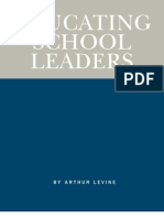 Educating School Leaders
