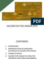 3-Valores en Por Unidad