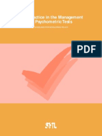 Best 20 Practice Psycho Metrics 1