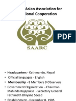 South Asian Association for Regional SAARC