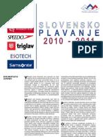 Slovensko plavanje 2010, 2011