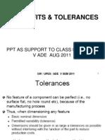 4. Limits Tolerances