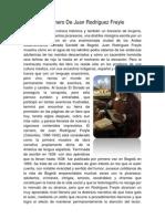 El Carnero De Juan Rodríguez Freyle