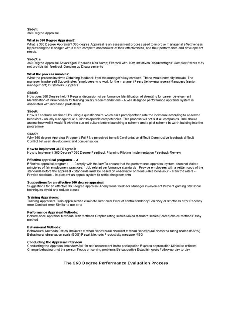trait methods of performance appraisal