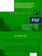 EL METANO CH4