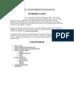 HTML Conociminetos Basicos