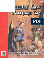 Role Master - Character Law & Campaign Law