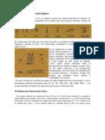 El Sistema de Numeración Egipcio,maya,griego.decimal