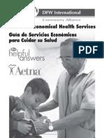 Guía de Servicios Económicos para Cuidar su Salud