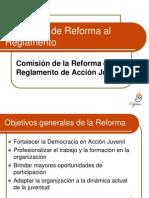 Propuesta Reforma RAJ