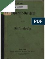 Bajonettir - Vorschrift Fur Die Infantrie - Germany (Prussia) Ministry of War 1901