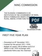 First Five Year Plan