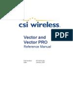Vector Pro Manual