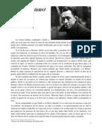 Extracto de El Mito de Sisifo - Alber Camus