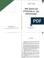 Dictionar Integral de Sinonime [Maria Paun, Ed. Saeculum Vizual]