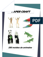 Paper Craft - 280 Moldes