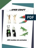 Paper Craft - 280 Moldes