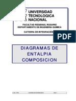 Diagramas de Entalpia Composicion