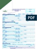 FORMULARIO DE PENSIONES