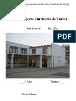 Projecto Curricular de Turma 1.o Ciclo 97 2003 Final