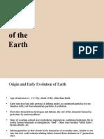 Evolution of Earth