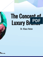 The Concept of Luxury Brands - Presentation