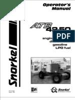 Atb 4250 Operators Manual