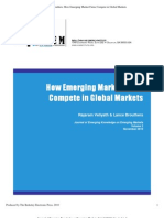 How to Compete in Global Markets