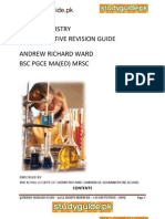Igcse-chemistry Revision Guide