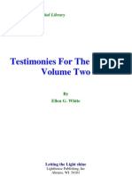Ellen G. White - Testimonies for the Church Volume Two