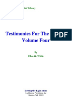 Ellen G. White - Testimonies for the Church Volume Four