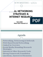 Social Networking Strategies Internet Research Tools CCM 6Sep11