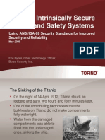 ANSI_ISA-99 and Intrinsically Secure Systems (May 2009)