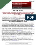 Barack Who?