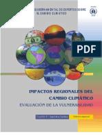 Impactos Region Ales Del Cambio Climatico