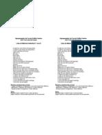 Lista de Material 3º ano B 2011-12