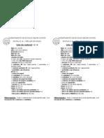 Lista de material 2º ano A -  2011-12