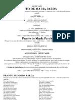 Gil Vicente - O Pranto de Maria Parda