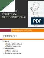 SEMIOLOGÍA PEDIÁTRICA GASTROINTESTINAL