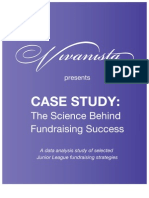 Vivanista Case Study - The Science Behind Fundraising Success, A Junior League Fundraising Study