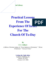 F. C. Gilbert - Practical Lessons From the Experience of Israel for the Church Today