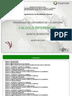 Cálculo Diferencial 290609