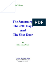 James White - The Sanctuary, The 2300 Days and the Shut Door