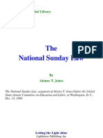 A. T. Jones - National Sunday Law