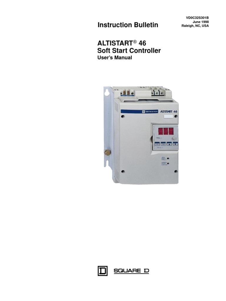 Ats22 Wiring Diagram Icu Kw Altistart 22 Byp Isolation Altivar 71